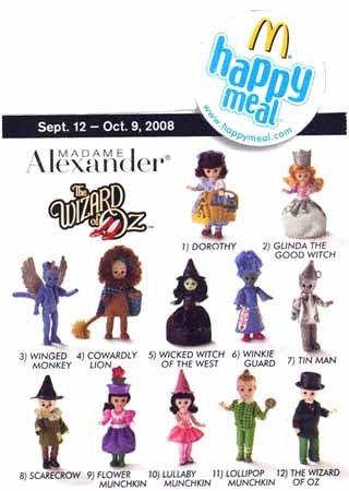 Wizard Of Oz Action Figures