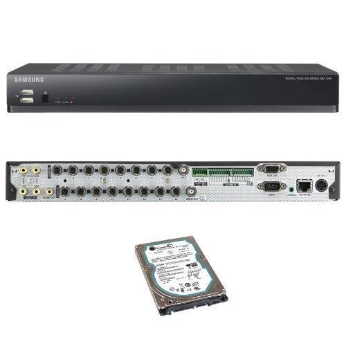 Samsung - Enregistreur 16 Canal SRD-1640 CCTV H.264 DVR Avec Disque Dur 500GB Compatible Internet