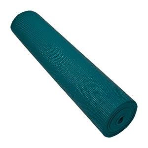 "24"" X 72"" X 6 MM Piloga Yoga Mat- Non-Toxic, Teal"