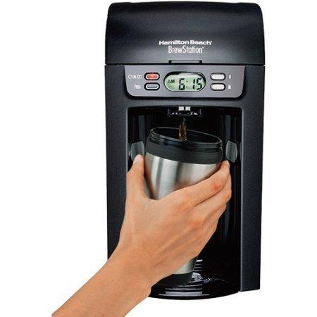 6-cup BrewStation Coffeemaker by Hamilton Beach, 48274, Black (Milton Carafe compare prices)