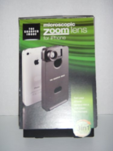 Sharper Image Microscopic Zoom Lens For Iphone 4/4S