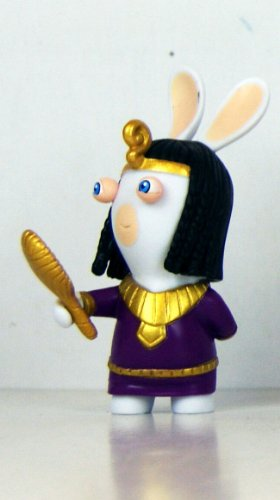 "Rabbids - Travel in Time - 2.75"" Figure - Cleopatra"