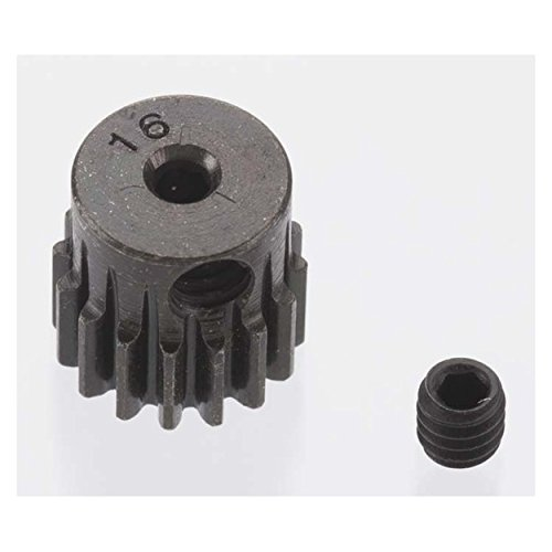 Hard Blackened Steel Mini Pinion 2mm, .5 Mod 16T