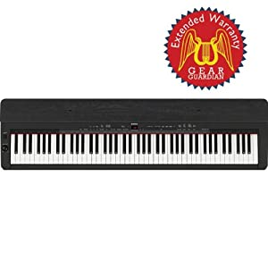 Yamaha p155b digital piano with gear guardian extended for Yamaha extended warranty