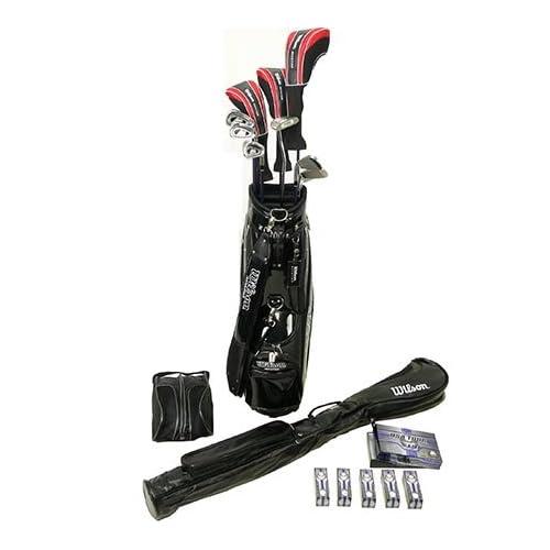 ウィルソン(Wilson) メンズ ゴルフ ビギナー フルセット 9点 Rシャフト