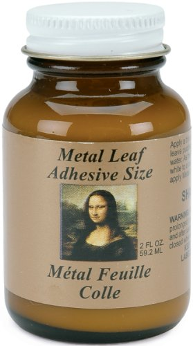 Speedball Mona Lisa 2-Ounce Metal Leaf Adhesive Size - 1