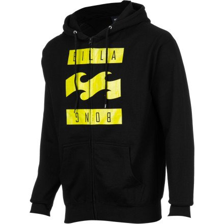 Billabong Simple Full-Zip Hoodie - Men's Black,
