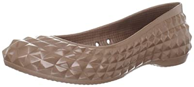 crocs Women's Super Molded Patent Flat