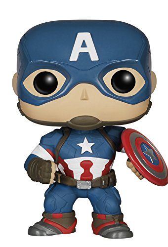 Funko Marvel: Avengers 2 - Captain America Action Figure - 1
