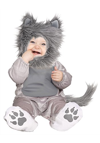 [Wolf Cub Baby / Toddler Costume] (Wolf Costumes Toddler)