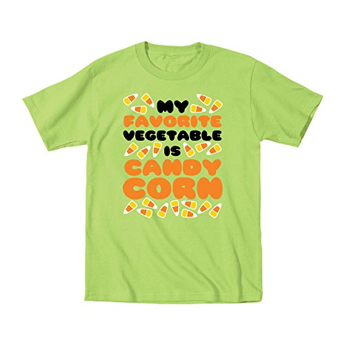 My Favorite Vegetable Is Candy Corn Funny - Juvy T-Shirt - Key Lime - 7J