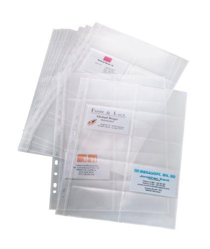 Pochette Plastique Carte De Visite Pas Cher