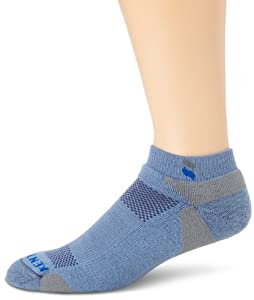 KENTWOOL Men's Tour Profile Socks, Light Blue, Large
