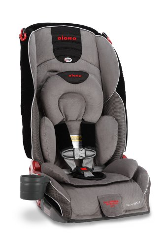 Diono Radian R120 Convertible Car Seat Plus Booster, Storm - 1
