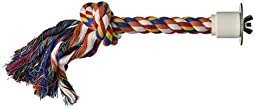 Paradise 1/2 by 13-Inch Cotton Preening Knot Chew Toy, Medium