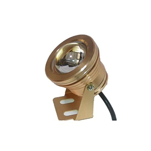 LED 防水 汎用 ライト DC12V 白色光 (2 金)