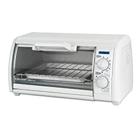 Black & Decker TRO420 Toast-R-Oven 4-Slice Countertop Oven/Broiler