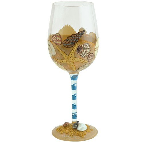 Lolita from Enesco Wine Glass, Seaside (Design Wine Glasses compare prices)