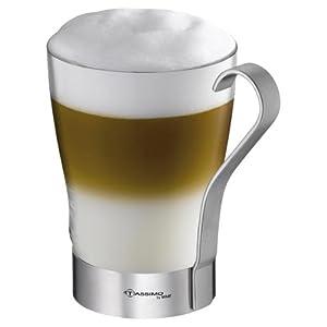 tassimo by wmf latte macchiato glas mit henkel k che haushalt. Black Bedroom Furniture Sets. Home Design Ideas