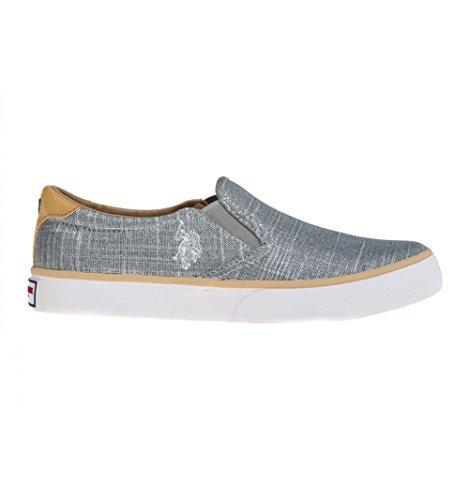 U.S. Polo Assn. Slip on Sneakers in pelle intrecciata P/E 2016 (36)