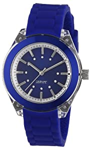 Esprit - ES900682009 - Play Mini - Montre Femme - Quartz Analogique - Cadran Bleu - Bracelet Caoutchouc Bleu