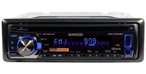 Kenwood Kdc-Hd548U In Dash Single Din Cd/Mp3/Wma/Am/Fm/Aac Receiver