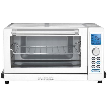 Cuisinart Deluxe Convection Toaster Oven Broiler, White TOB-135W (Under The Counter Toaster Oven compare prices)