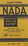 NADA Used Car Guide - Central Edition - April, 2002