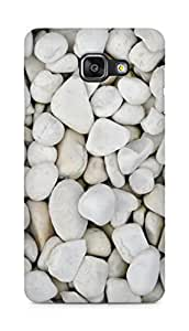 Amez designer printed 3d premium high quality back case cover for Samsung Galaxy A5 (2016 EDITION) (white stones)