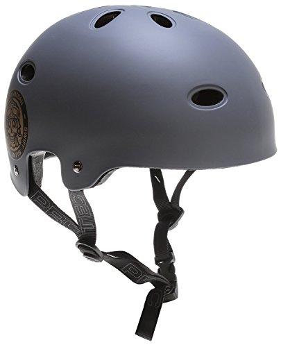 Pro-tec B2 Skate SXP Matte Skateboard Helmet, Grey, X-Large