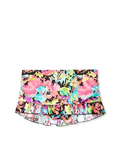 Kenneth Cole Reaction Women's In Full Bloom Ruched Swim Skirt