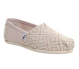 TOMS Classics Shoe - Women\'s Whisper Woven Diamond 7