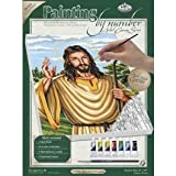 Royal & Langnickel 11 x 15 inch Three Tigers Pre-Printed Paint by Number Painting Set