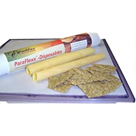 Paraflexx Disposable Parchment Paper Dehydrator Sheets (100 Count) 14 X 14
