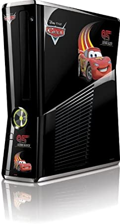Skinit #95 Lightning McQueen Vinyl Skin for Microsoft Xbox 360 Slim (2010)