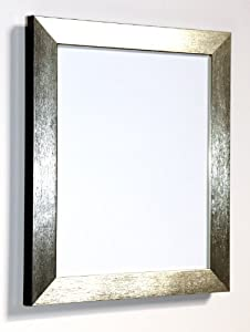 """Tailored Frames - Brushed Picture Photo Frames (820 Range) - Silver - 20"""" x 16"""""""