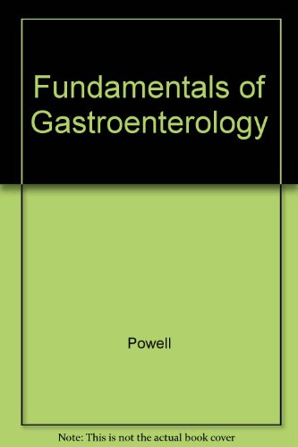 Fundamentals of Gastroenterology PDF