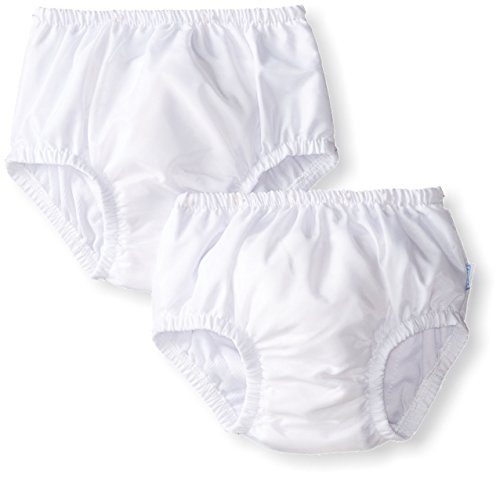 i play Unisex Baby Ultimate Swim Diaper 2 Pack, White, X Large