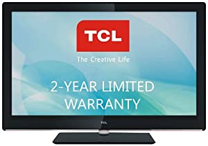 TCL LE26HDP21TA 26-Inch 720p 60 Hz LED HDTV with 2-Year Warranty, Black