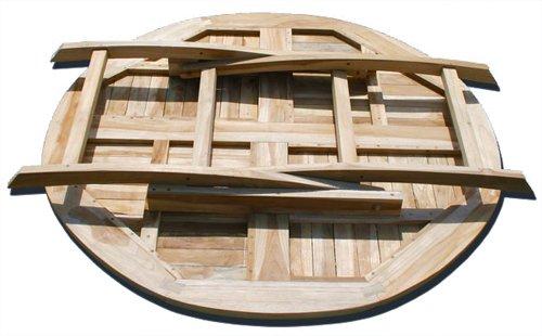 klapptisch rund 120 cm com forafrica. Black Bedroom Furniture Sets. Home Design Ideas
