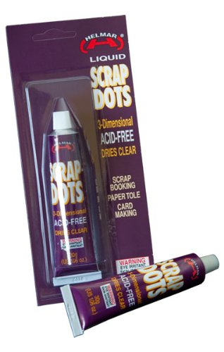 Helmar Liquid Scrap Dots, 1.06-Ounce