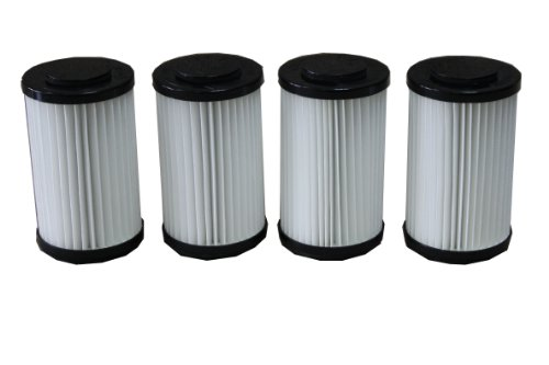 Generic Hepa Filters Suitable For Kenmore Vacuum 82720 Dcf-1 Dcf-2 (Pack Of 4) front-121223