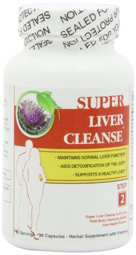 Health Plus Liver Cleanse Capsules, 90-Count