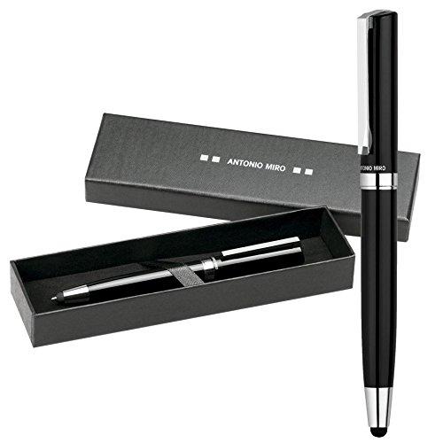 antonio-miro-penna-classica-metallica-2-in-1-custodia-con-logo-stampato-perfetta-come-regalo