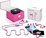 echange, troc Écouteurs intra-auriculaires 'London - Pink Panther' pour iPhone / iPad