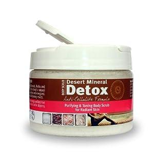 Desert Mineral Detox method Scrub - Anti-Cellulite Formula