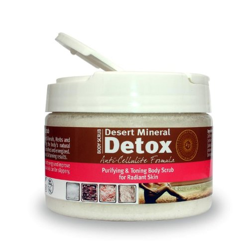 41nSg6GhTgL The Desert Mineral Detox Body Scrub   Anti Cellulite Formula by Extended Vacation Review