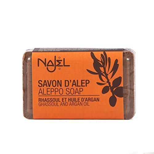 najel-sapone-di-aleppo-con-rhassoul-e-olio-di-argan-100g
