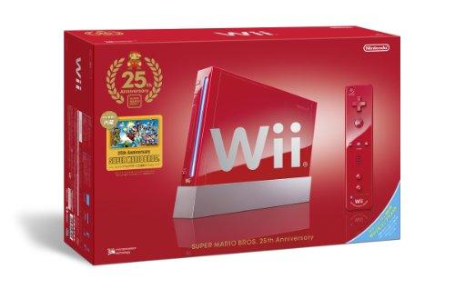 Wii本体(スーパーマリオ25周年仕様)(「Wiiリモコンプラス」同梱)(RVL-S-RAAV)