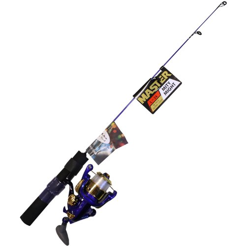 Master Fishing Tackle Rl10/L24 Ice/Brush Lite Combo (2-Feet, Assorted Color)